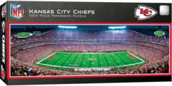 Kansas City Chiefs Football Panoramic Puzzle