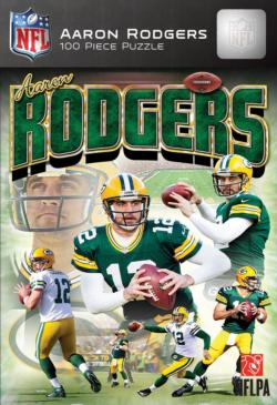 Aaron Rodgers Baseball Jigsaw Puzzle