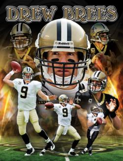 Drew Brees New Orleans Sports Jigsaw Puzzle