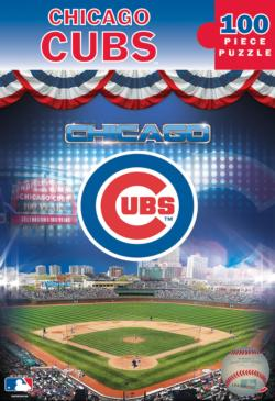 Chicago Cubs Baseball Jigsaw Puzzle