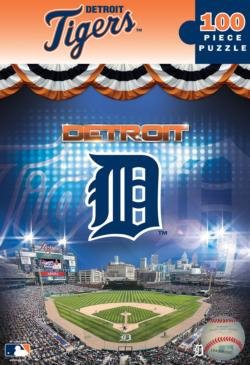 Detroit Tigers Baseball Jigsaw Puzzle