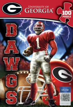 University of Georgia Dawgs Sports Jigsaw Puzzle