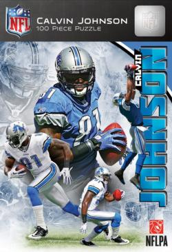 Calvin Johnson Football Jigsaw Puzzle