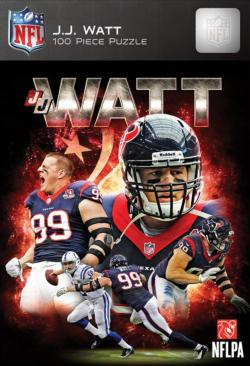 JJ Watt Sports Jigsaw Puzzle