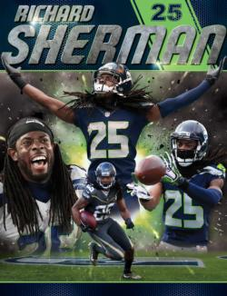 Richard Sherman Sports Jigsaw Puzzle