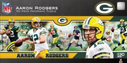 Aaron Rodgers Sports Panoramic Puzzle