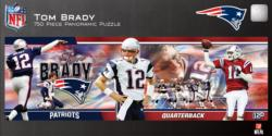 Tom Brady Sports Panoramic Puzzle