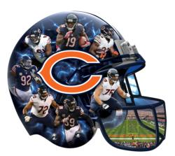 Chicago Bears Sports Shaped Puzzle