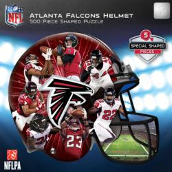 Atlanta Falcons Helmet Shaped Puzzle Sports Jigsaw Puzzle