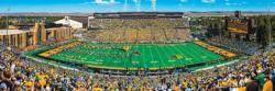 Wyoming 1000pc Panoramic Puzzle Football Panoramic Puzzle