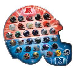 NFL Team Logos Football Jigsaw Puzzle