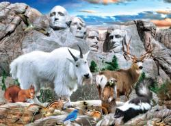 Mount Rushmore Wildlife Children's Puzzles