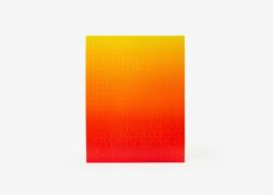 Gradient Puzzle (red/yellow) Abstract Impossible Puzzle