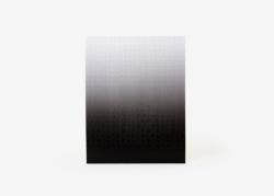 Gradient Puzzle (black/white) Monochromatic Impossible Puzzle