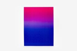 Gradient Puzzle (blue/pink) Abstract Impossible Puzzle