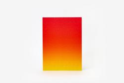Gradient Puzzle Small (red/yellow) Abstract High Difficulty Puzzle