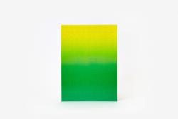 Gradient Puzzle Small (green/yellow) Abstract Impossible Puzzle