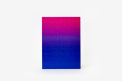 Gradient Puzzle Small (blue/pink) High Difficulty Puzzle