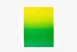 Gradient Puzzle (green/yellow) Abstract Impossible Puzzle