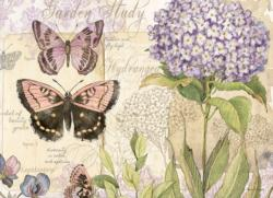 Flutter and Fly Flowers Jigsaw Puzzle