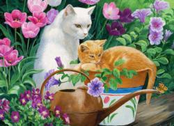 Cat Daze - Scratch and Dent Cats Jigsaw Puzzle