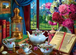 Tea Set Domestic Scene Jigsaw Puzzle