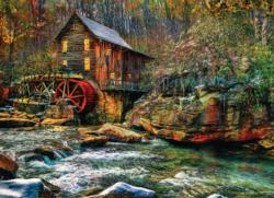 Old Mill Lakes / Rivers / Streams Jigsaw Puzzle