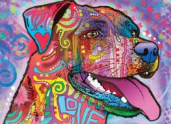 Be Pawsitive Dogs Jigsaw Puzzle