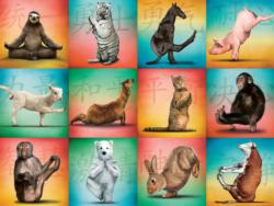 Animal Yoga Animals Jigsaw Puzzle
