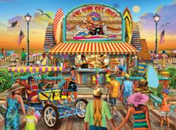 The Surf Cat Grill Food and Drink Jigsaw Puzzle
