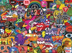 Patches of Fun Everyday Objects Jigsaw Puzzle