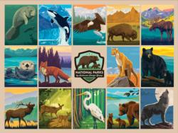 National Parks Wildlife National Parks Jigsaw Puzzle