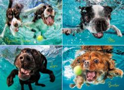 Underwater Dogs: Ruff Water Dogs Jigsaw Puzzle