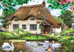 Swan Cottage Cottage/Cabin Jigsaw Puzzle