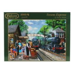 Steam Express Trains Jigsaw Puzzle