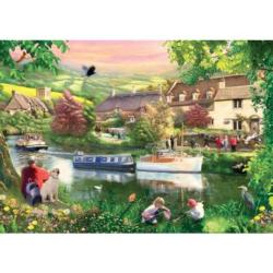 Summer Haze Lakes / Rivers / Streams Jigsaw Puzzle