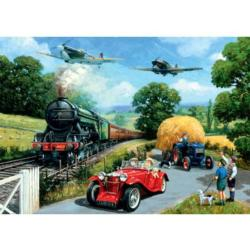 Wartime Summer Vehicles Jigsaw Puzzle