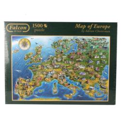 Map of Europe Geography Jigsaw Puzzle