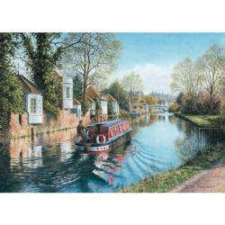 Ware, Hertfordshire Lakes / Rivers / Streams Jigsaw Puzzle