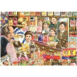 The Little Sweet Shop Sweets Jigsaw Puzzle