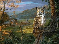 The Night Watchman Nature Jigsaw Puzzle