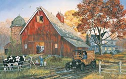 Come Rain or Shine Farm Jigsaw Puzzle