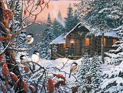 Enchanted Woods Winter Jigsaw Puzzle