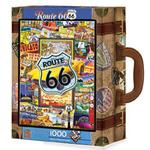Travel America - Route 66 (Suitcase) United States Jigsaw Puzzle