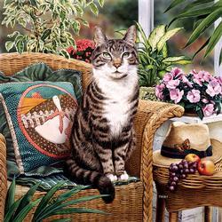 Hemingway (Catology) Cats Jigsaw Puzzle