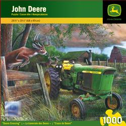 Deere Crossing Deer Jigsaw Puzzle