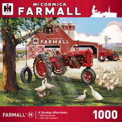 A Sunday Afternoon (Farmall) Farm Jigsaw Puzzle