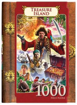 Treasure Island (Classic Books) Pirates Jigsaw Puzzle