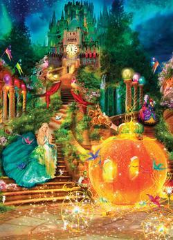 Cinderella (Classic Books) Fantasy Jigsaw Puzzle