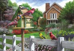 Feathers and Flowers Flowers Jigsaw Puzzle